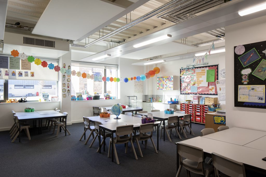 Chichester Free School Classroom