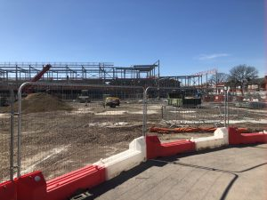 Mayfield School Construction Progress
