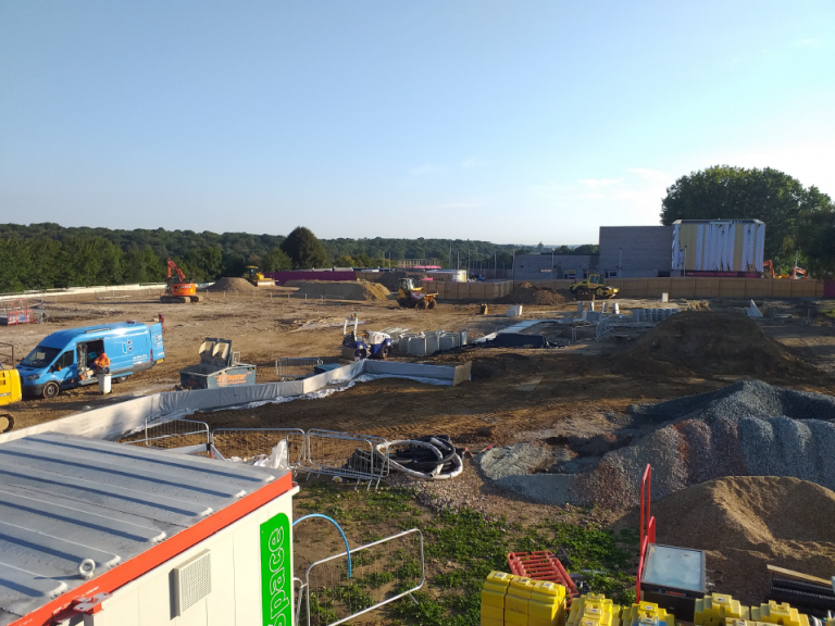 Addington Valley Academy Construction Update