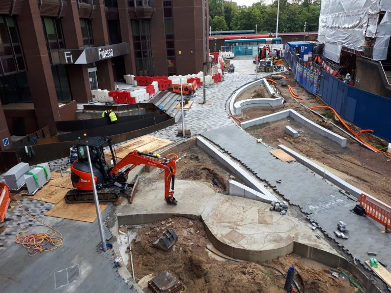 Dukes Court Construction Progress October
