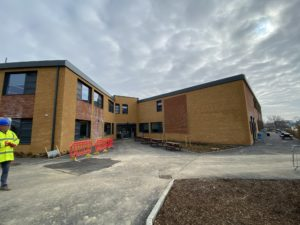 Uplands Community College Construction