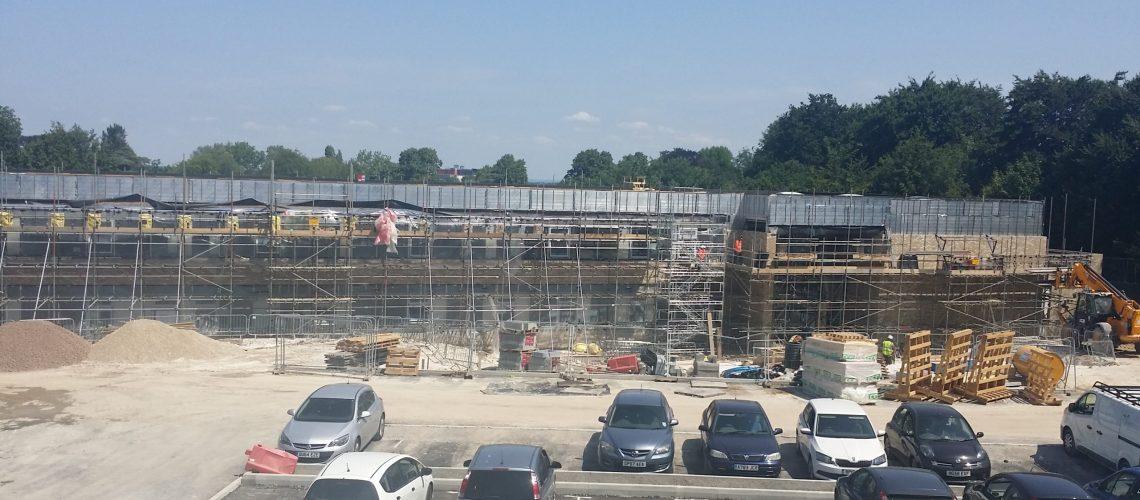 Austen Academy Construction Progress