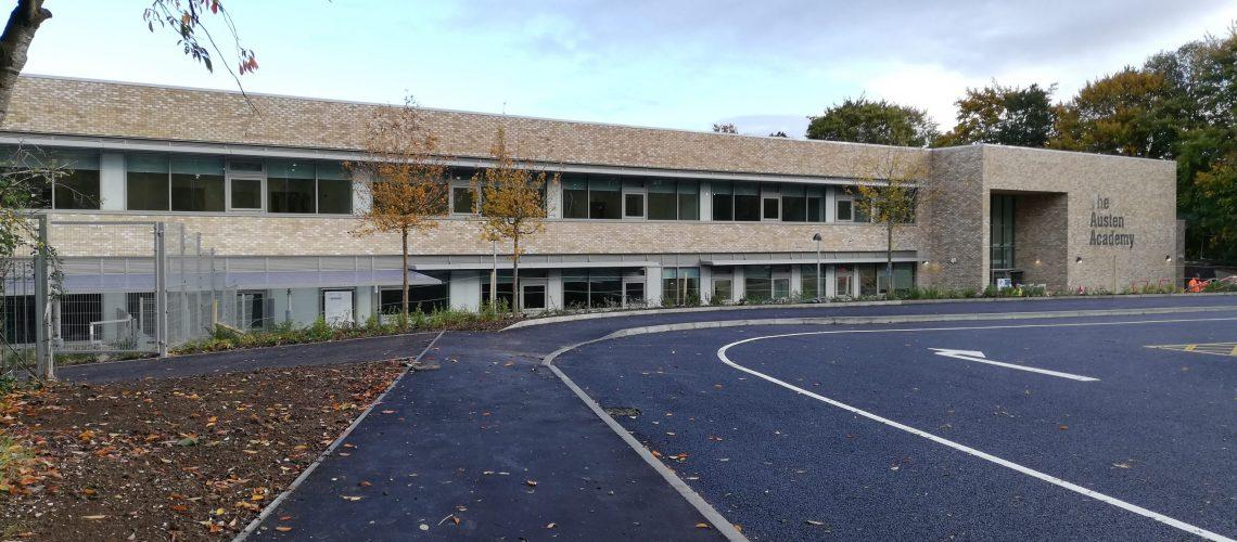 Austen Academy front elevation