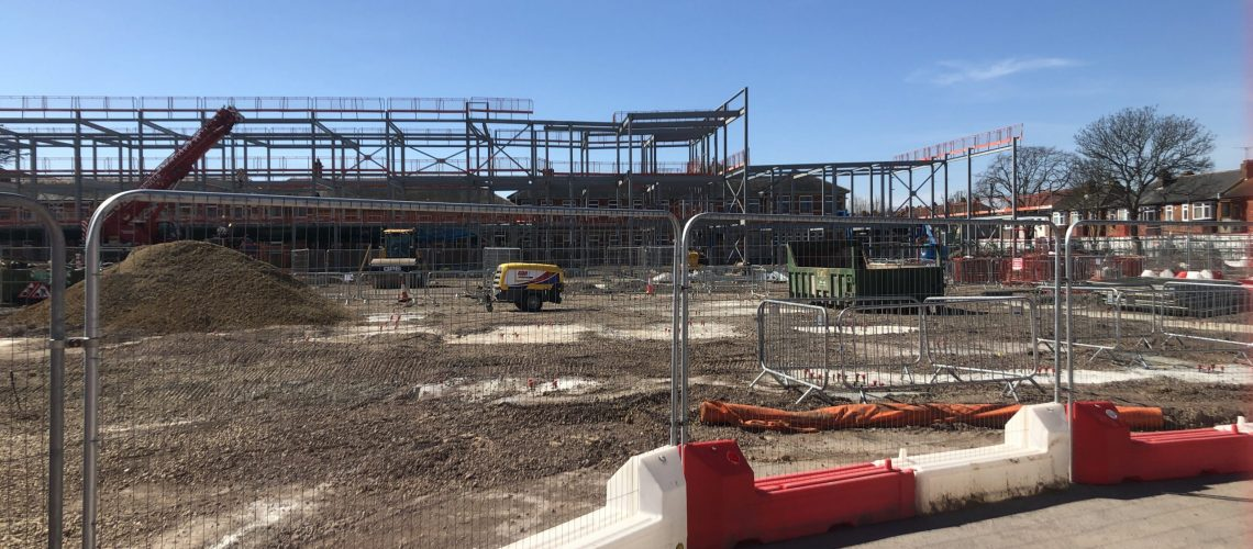 Mayfield School Construction Progress