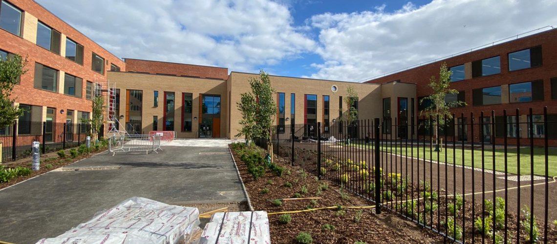 Mayfield School Entrance